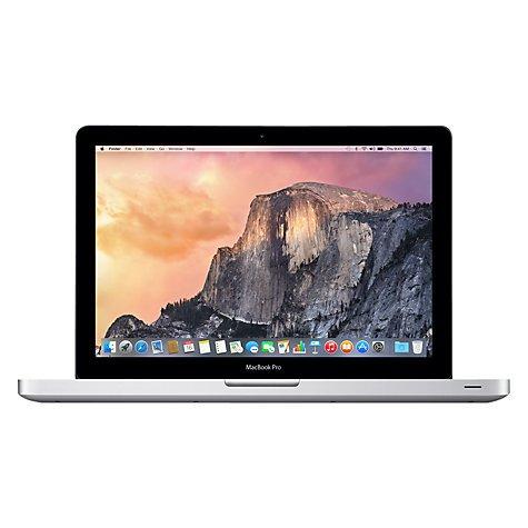"""Apple MacBook Pro, MD101B/A, Intel Core i5, 500GB, 4GB RAM, 13.3"""" £899 @ John Lewis"""