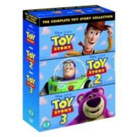Toy Story Complete dvd box set - £10 @ Tesco Direct