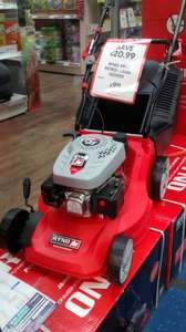 petrol lawn mower £99 @ The Range INSTORE