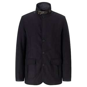 Barbour Barkston Military Jacket, Navy only S and L sizes left £124.50 @ John Lewis.  Reduced from £174.30.  Free delivery.