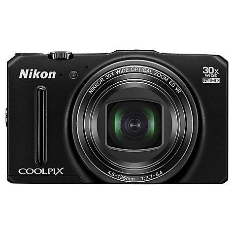 Nikon Coolpix S9700, 30x Optical Zoom, 16MP, GPS, WiFi, £164.95 @ John Lewis