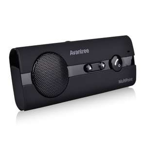 Avantronics BTCK-10B Hands-free Bluetooth Car Speaker-phone Kit, £13.97 + free delivery @ Amazon.