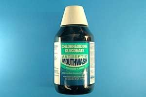 Chlorhexidine Mouthwash Mint 300ml - £1.75 @ Chemist Direct with FREE delivery using code