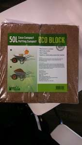 Eco Block Home Bargains £1.79 @ 50 L (2x25L)