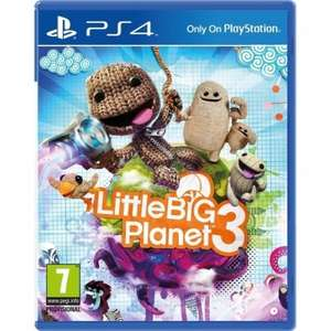 Little Big Planet 3 (PS4) Including Bloodborne Sackboy Keyring £24.99 Delivered @ 365 Games