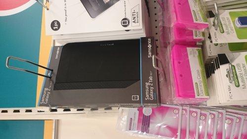 Samsonite Galaxy Tab Cases - Red, Black more - £1 at Poundland