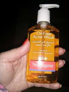 Neutrogena oil-free Acne wash 49p @ Home Bargains