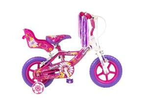Sonic Daisy Girls Bike - White/Pink, 12 Inch £36.84 @ Amazon