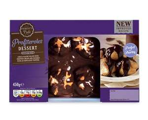 * Family Pack Profiteroles (serves 6) £1.99 @ Aldi (from 9th) *
