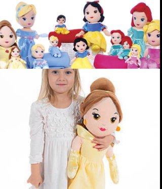 "Disney Princess 20"" Soft Plush Dolls - £10 Sainsburys instore"