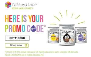 10% off Tassimo online orders over £25 or 2 free milka mugs with orders over £45