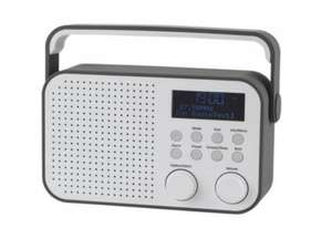 Refurbed Tesco DR1404G Digital DAB & FM Radio Grey & White 4W £15 delivered from Tesco Outlet on eBay