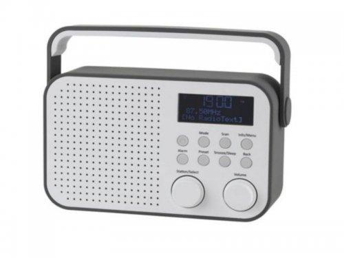 Refurbed Tesco DR1404G Digital DAB & FM Radio Grey & White 4W £15 delivered from Tesco Outlet on eBay