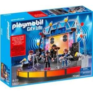 Playmobil Rock Stage and Band £19.99 @ Argos