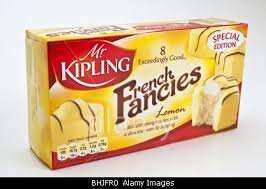lemon french fancies 50p at the co op