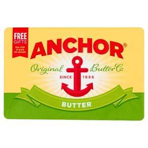 anchor butter block 250g for £1 @ pak supermarkets