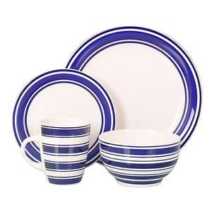 Stoneware dinner set - 16 piece for £15!! (Debenhams)