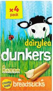 Dairylea Ritz Dunkers or Mighty Mature (4 x 46g) was £2.25 now £1.12 @ Tesco