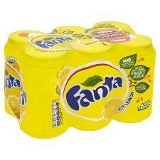 Fanta Lemon 6 Cans £1.77 @ Tesco online/instore