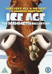 Ice Age 1-4 plus Mammoth Christmas: The Mammoth Collection [DVD] £6.94 Delivered @ hmv.ie (with code)