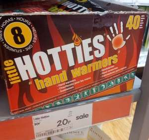 Little Hotties hand warmers - stock up for next winter just 20p at Asda.
