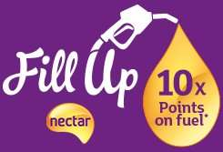 Nectar Fill Up - 10x points on Sainsburys fuel spend