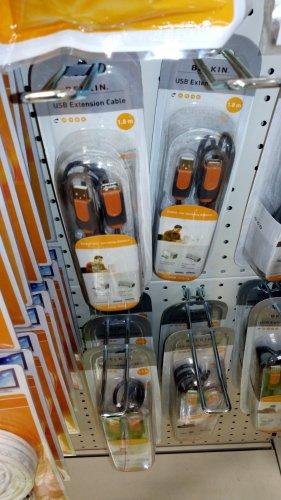 Belkin USB 1.8m Extension Cable £1 @ Poundland