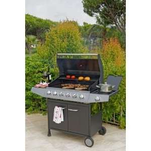 Premium 6 Burner Gas BBQ with Side Burner - Express Delivery for £219.98 was £399.98 @ Argos