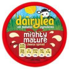 * Dairylea Mighty Mature Cheddar Cheese Spread 145g/ Light/ Original Cheese Spread 180g HALF PRICE 75P @ Tesco *