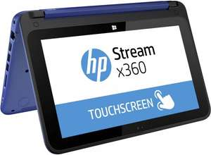 Hp stream x360 (Chromebook killer), 1 TB one drive and office 365  £199 (potentially £185.31)