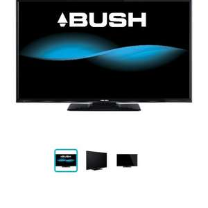 Bush 49inch TV LED 1080p with a free sound bar £285 @ Argos