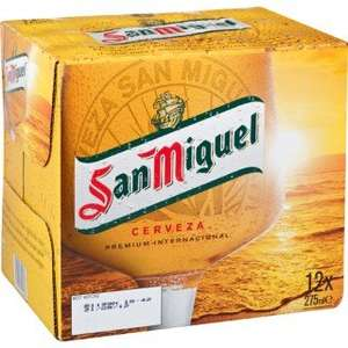 San Miguel - 12 Bottles @ Lidl - £6.99