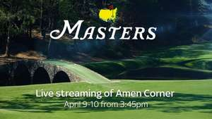 Masters Live Stream on Sky Sports for free