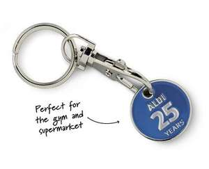 £1 trolley token only 25p! 25th anniversary deal from Aldi! 16th April onwards. Also for gym lockers