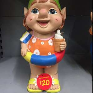 Giant Garden Gnome (holding an ice cream) £20 @ Asda
