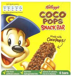* 6 Pack Cereal Bars Now 84p Each Kellogg's Frosties/ Rice Krispies/ Coco Pops @ Ocado *
