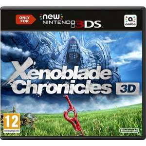 Xenoblade Chronicles 3D (New 3DS) - £28.82 @ Gameseek