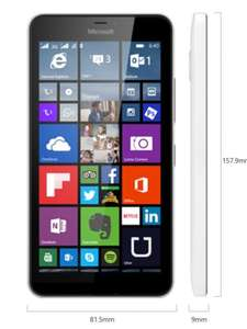 Microsoft LUMIA 640 - SIM FREE / unlocked £114.99 at Carphonewarehouse