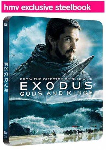 Exodus 3D Blu-ray Steelbook (3D Blu-ray) £14.50 @ HMV.IE