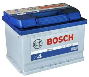 Bosch S4 Car Battery £36.07 delivered with code @ Carparts4less