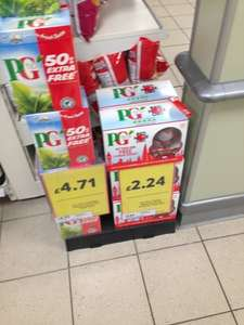 160 PG Tips tea bags with free red nose day monkey £2.24 at Tesco metro