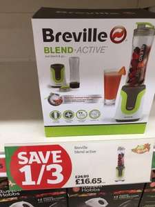 Breville Blend Active £16.65 in Sainsburys