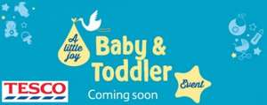 Tesco Baby & Toddler Event 15th - 29th April (list of offers below)