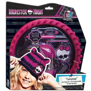 * £2.59 Monster High Make Your Own Beanie Hat Kit Was £12.99 @ Argos (R&C) *
