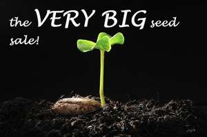 Seed Sale Seeds from 5p + delivery £1.50 = £1.55 - Park Promotion