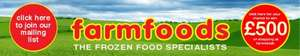 Farmfoods 50% off everything Bulwell Nottingham