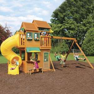Solowave Cedar Summit Clarington Resort Playcentre (3-10 Years), £799.99 delivered at Costco