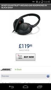 Bose Soundtrue Around Ear (Black) £120 @ hispek