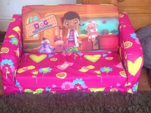 Doc Mc Stuffins sofa bed, £5 Smyths