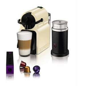 Nespresso Inissia Machine with Aeroccino £99.99 @ Amazon